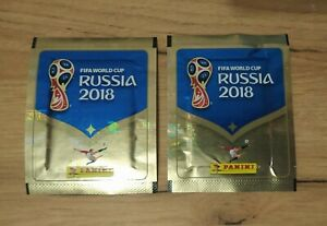 PANINI WC 2018. TWO VERY RARE PACKETS !