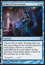 Order of Succession // Presque comme neuf // Commandant 2013 // Engl. // Magic the Gathering