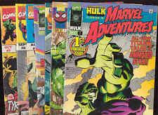 Marvel Adventures Comic Book X15 Hulk Spiderman Captain America Gambit Wolverine