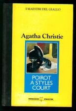 CHRISTIE AGATHA POIROT A STYLES COURT MONDADORI DE AGOSTINI 1990 MAESTRI GIALLO
