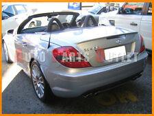 05-10 M-Benz R171 A-Type Trunk Spoiler Lip SLK280 SLK350 - #775 Iridium Silver