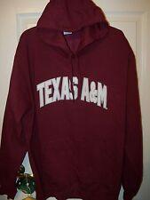 Texas A&M A & M Aggies Football Burgundy Jacket Hoodie Mens Size 2XL XXL NWT