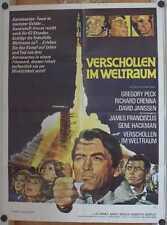 VERSCHOLLEN IM WELTRAUM (Filmplakat / Kinoplakat '69) - GREGORY PECK