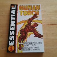 The Essential Human Torch Vol 1 OOP TPB - Strange Tales, Stan Lee, Kirby, Ayers