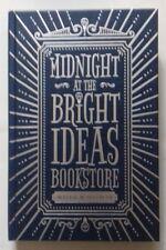 MATTHEW SULLIVAN - MIDNIGHT AT THE BRIGHT IDEAS BOOKSTORE. SIGNED/LTD 108/150 HB