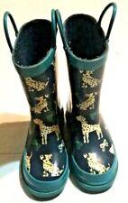 Austin Toddler Girls Rain Boots Kids Dalmatians Size 9 EUC