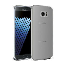 For Samsung Galaxy Note FE Slim Rubber TPU Silicone Soft Skin Case Cover Clear