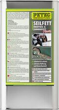 PETEC 5L Seilfett Drahtseil-&Zahnradfett Saugdose Schutz+Schmierung belastbar
