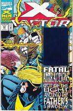 X-FACTOR  #92 1993 -WRAPAROUND-c  QUESADA-c/a  W/HAVOK HOLOGRAM-c 30TH ANV...NM-