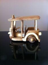 Tuk Tuk 3 Wheels Taxi Thai Craft Handmade Wood Model