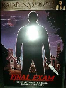 FINAL EXAM - USED REGION 1 US DVD