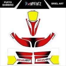 PUFFO BAMBINO BIREL ART Stile Completo Kart Kit Adesivo-Kart-CADET-Rookie