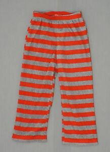 New Wondershop Boys Youth Striped Fleece Pajama Pants Red / Grey