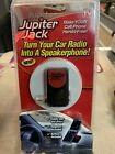 Jupiter Jack Cell Phone Car Radio Speakerphone Converter Device-Brand New In Pkg