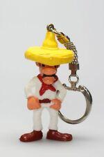 Figurine plastique Lucky Luke Porte-clé Gonzalez mains à son ceinturon (foulard
