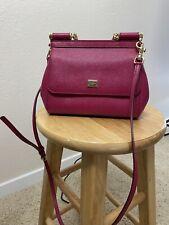 Pre-Owned Dolce & Gabbana Miss Sicily Bag (Small) - Hot Pink Shoulder Bag