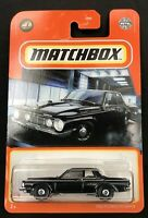 2021 Matchbox 12/100 1962 Plymouth Savoy ~ Black ~ NEW CASTING - VHTF!