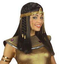 COPRICAPO CLEOPATRA 3289Y ACCESSORIO EGIZIANA EGITTO EGIZI EGIZIO SERPENTE  ORO e7cb4173a316