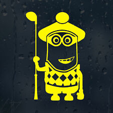 Minion Golf Player Car Decal Vinyl Sticker For Window Bumper Wall Laptop