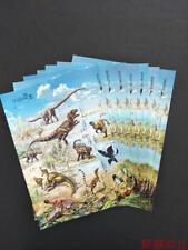 China 2017-11 Chinese Dinosaurs stamps sheet(5 coding patterns,7 letter)7PCS