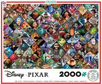 DISNEY PIXAR - MOVIE COLLAGE - 2000 PIECE JIGSAW PUZZLE - BRAND NEW 3502-4