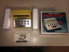 RARE 70'S DRAW POKER NICE AND WORKS! with Box & Manual LOOK!NEW BATTERIES!