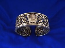 Charles Krypell  Diamond hinged Bangle Bracelet Champagne Color