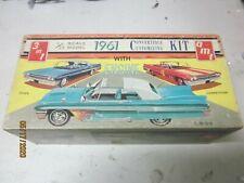 VINTAGE 1 25 MODEL 1961 BUICK CONVERTIBLE BOX ONLY  JUNKYARD PARTS LOT