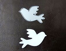 Sizzix Die Cutter BIRD DOVE WEDDING Thinlits fits Big Shot Cuttlebug