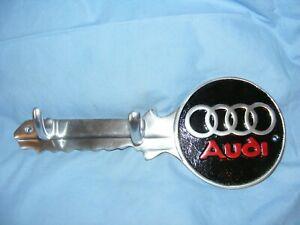 Audi Key Hook Holder Garage Man Cave Wall Logo Car Sign Aluminium