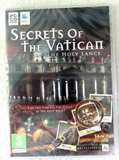 39668 - Secrets Of The Vatican The Holy Lance [NEW / SEALED] - PC (2009) Windows
