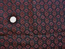 Italiano Jacquard-Black/Rojo -dress Tejido