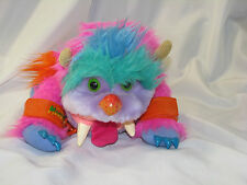 "1986 Vintage WOGSTER with Handcuffs AmToy MY PET MONSTER 10"" Plush Hand Puppet"