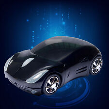 Useful 3D USB Wired Mouse Mice Car Shape for PC Laptop Notebook Computer Black