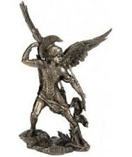 URIEL ARCHANGE BRONZE STATUE SCULPTURE