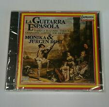 MONIKA & JURGEN ROST - LA GUITARRA ESPANOLA CD ***Sealed*** Tarrega Albeniz