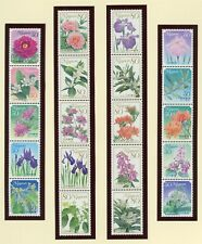 Japan MNH Modern Selections: Scott #3211a//3230a Flowers FLORA CV$20+