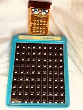 """Touch nTell Me Multiplication and Vintage """"Little Professor"""" Calculator And Math"""
