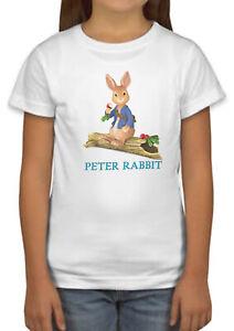 Peter Rabbit Funny Film Cartoon Girls Boys Kids Unisex Top Birthday Gift 288