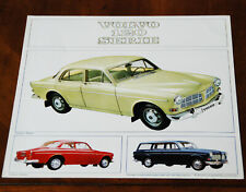 Volvo 120 Series (Amazon) brochure Prospekt, 1965 (Dutch text)