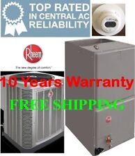 5 Ton 14SEER Rheem Heat Pump System Condensing Unit / Air Handler with Coil