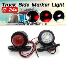 New listing Car Truck Led Side Marker Light Double Lamp White Red For Trailer Lorry Cara Dg