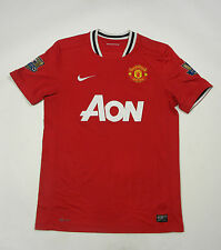 Shirt Manchester United 2011-2012 Home Jersey #4 Jones