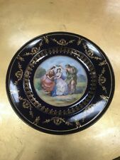 Royal Vienna Style Cabinet/ Display Plate, Full Bee