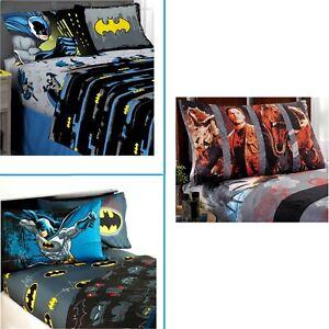 Batman -or- Jurassic World FULL SHEET 4 Pc SET Choose ~ New in Package