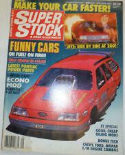 Super Stock Magazine Funny Cars & Econo Mod September 1987 022615r2
