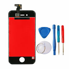 NEW iPhone 4 Screen / Touch Digitizer Assembly BLACK + Free Tools
