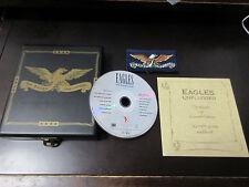 Eagles Hell Freezes Over EU CD in Wooden Box Don Henley Glenn Frey Joe Walsh
