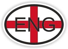 Eng Inglaterra GB Reino Unido Bandera De Código De País Pegatina Casco Coche Camión Patineta Nevera