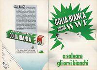 X0217 Caramelle GOLIA BIANCA - Pubblicità 1992 - Vintage Advertising